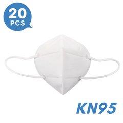4-ply KN95 Face Masks N95 Respirators alternatives & equivalents(20 PCS)