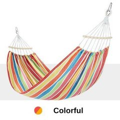 Double Outdoor Cotton Hammock Hanging Swing Bed