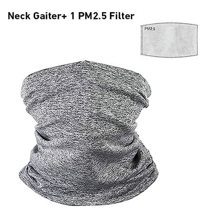 Cycling Face Bandana Scarf with safety pm2.5 Filter