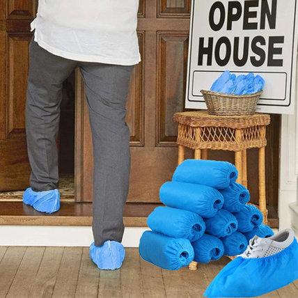 Shoe Covers Disposable Non-Woven Fabric