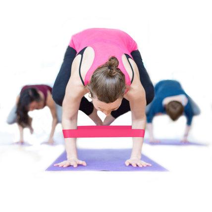 Resistance Loops Pilates Flexbands Yoga Elastic Bands
