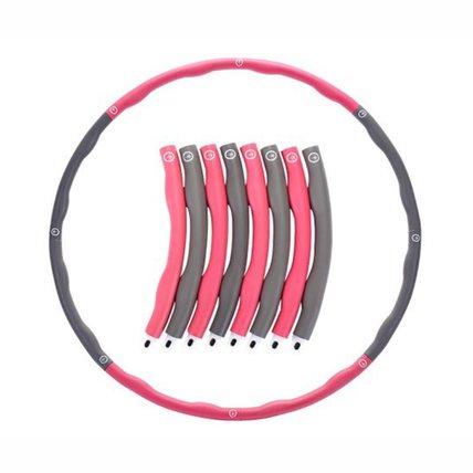 Foam Hula Hoop 8-Section Splicing Detachable Exercise Fitness Hoop