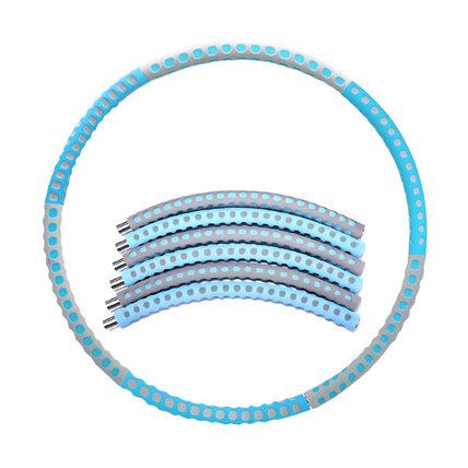 6 Detachable Hula Hoop Stainless Steel Pipe + High Density Foam