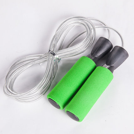 Professional Steel Wire Jump Rope with Bearing for Fitness