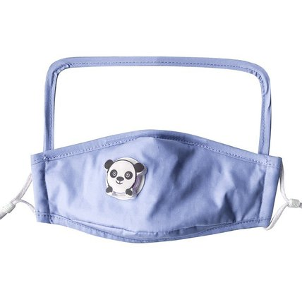Children Face Bandanas with Breathing Valve and Eye Shield