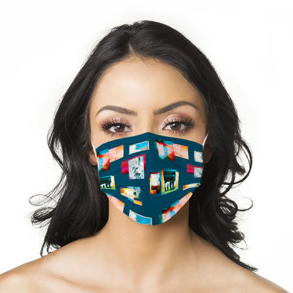Multicolor Art Printed Disposable Face Mask Adult 3-ply(50 PCS - Any 5 colors)