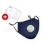 Pure Cotton Respirators with Breathing Valve and 2 Filters
