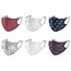 2-ply Microfiber Face Mask Anti-dust, Windproof, Breathable and Washable