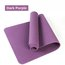TPE Yoga Mat SGS Certified Non Slip