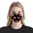 3-ply Disposable Protective Face Mask Ear loop Pleated Floral(20 PCS)