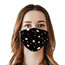 Multicolor Geometric Print Disposable Face Mask Adult 3-ply(50 PCS - Any 4 colors)